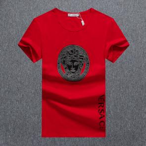 versace t-shirt fashion designer versace v8247 red