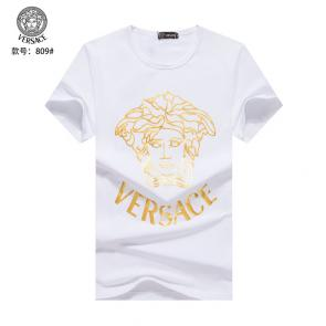 versace t-shirt fashion designer versace print medusa cheap