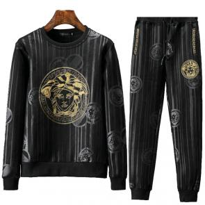 jacket de jogging versace collection luxurious black
