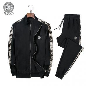 jacket de jogging versace collection zipper noir