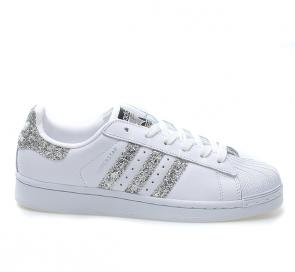 adidas originals baskets superstar classics white flash drill