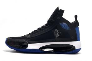 air jordan 34 france shoes black blue