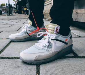 air max 90 off white pas cher prix ice on feet