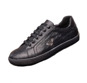 armani chaussure nouvelle collection black leather