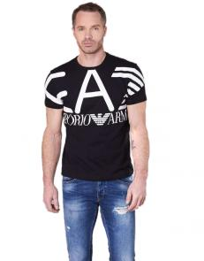 armani jeans t-shirt big ea7 top