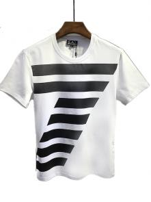 armani jeans t-shirt big-7 white