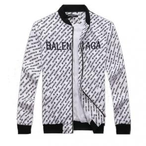 balenciaga jacket cheap white bb logo