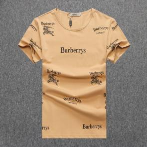 burberry t-shirt design pour hommes many pony brown