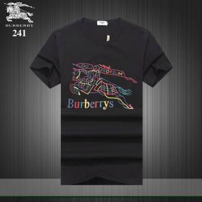 burberry t-shirt design pour hommes rainbow black
