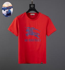 burberry t-shirt sale  england mercerized cotton 104 red