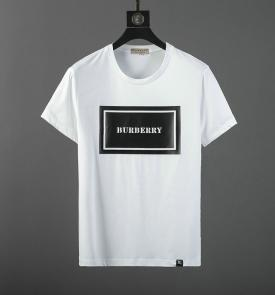 burberry t-shirt sale  england mercerized cotton white