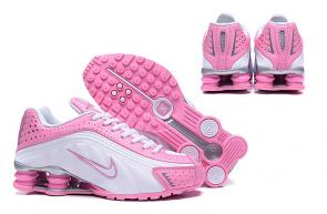 buy nike shox r4 torch women pink white