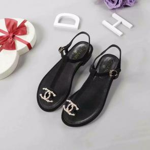 chanel sandals femme italy  chanel beach shoes pinch toe