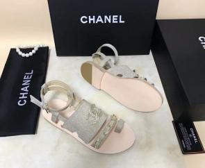 chanel sandals femme italy  sandals chain green
