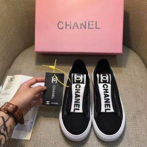 chanel shoes wome price casual shoes canvas shoes logo black