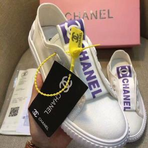chanel shoes wome price casual shoes canvas shoes logo purple