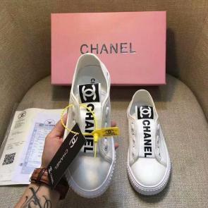 chanel shoes wome price casual shoes canvas shoes logo white