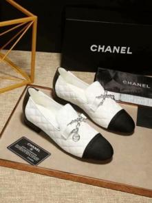 chanel shoes wome price flat shoes sheepskin car line white