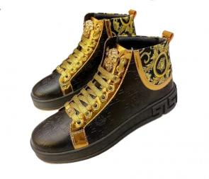 chaussure versace garcon promo high medusa leather