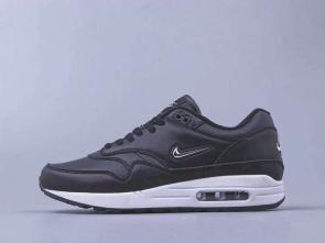 chaussures de course homme nike air max 87 leather black
