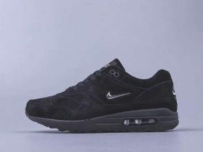 chaussures de course homme nike air max 87 suede black