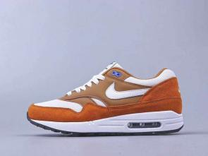 chaussures de course homme nike air max 87 suede brown