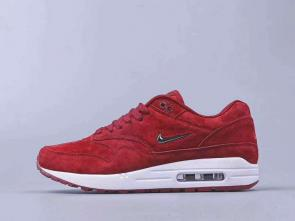 chaussures de course homme nike air max 87 suede red