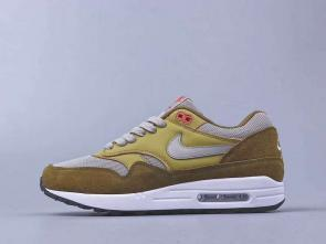 chaussures de course homme nike air max 87 suede vert