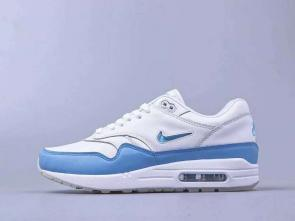 chaussures de course homme nike air max 87 white blue
