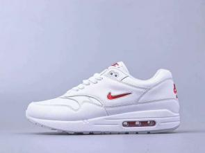 chaussures de course homme nike air max 87 white red