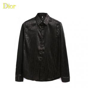 dior shirts long sleeve dd002 single color noir