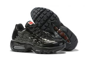 discount nike air max 95 by christian cheap leather black man