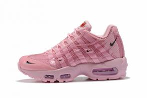 discount nike air max 95 women by christian cheap pink women