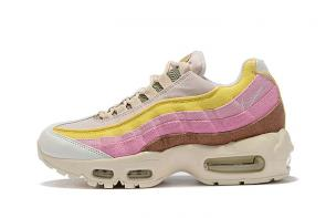 discount nike air max 95 women by christian cheap qs canvas pink