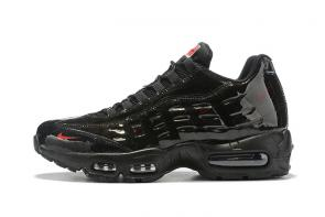discount nike air max 95 women man by christian cheap black nike 36-46
