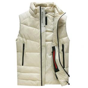doudoune moncler sans hommesches homme lead zipper down jackets autumn winter beige