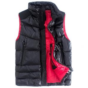 doudoune moncler sans hommesches homme lead zipper down jackets autumn winter black