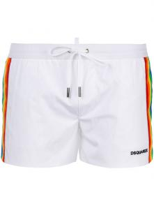 dsquared shorts 2018 casual dressing colorway side blanc