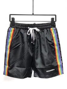 dsquared shorts 2018 casual dressing colorway side noir