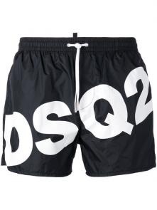 dsquared shorts 2018 casual dressing dsq2 logo white