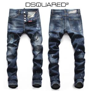 dsquared2 hommes jeans fall winter 2018 hole blue
