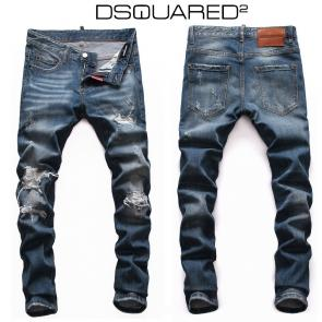 dsquared2 jeans man discount hole wash blue