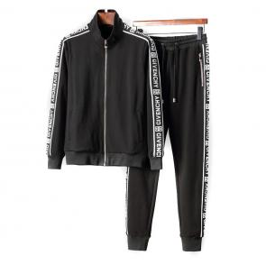 ensemble Tracksuit givenchy homme zipper shoulder embroidery logo