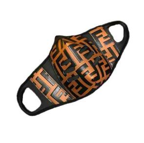 fendi mask discount ff leather mode