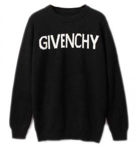 givenchy pull en laine multicolore discount givenchy logo noir tricot