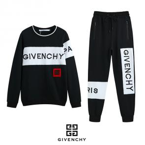 givenchy paris jogging embroidery logo black