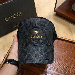 gucci cap supreme gg a imprime canvas net black