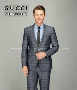 gucci costumes homme pour mariage heritage en laine rayee