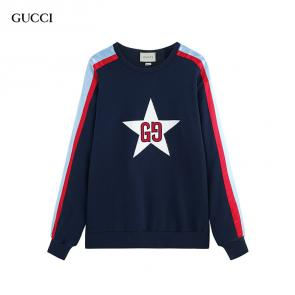 gucci man sweatshirt for cheap star center blue
