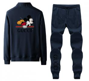gucci tracksuit mens cheap mickey mouse back blue,gucci jogging outfit